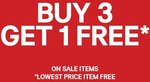 H&M - Buy 3 Sale Items and Get 1 Free