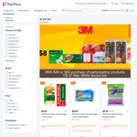 $3 off ($30 Min Spend) or $8 off ($60 Min Spend) on Participating 3M Products at FairPrice On