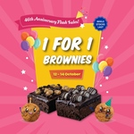 1 for 1 Brownies at Famous Amos