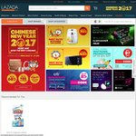 Lazada - $12 off (New Customers) or $10 off (Existing Customers) [Minimum $80 Spend]