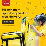 $0 Delivery Fees with No Minimum Spend at honestbee