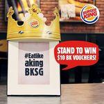 Win $10 BK Vouchers from Burger King