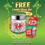 Free Kit Kat Cookie Jar with Every Kit Kat Sharebag 15s Pack Purchase ($5.60) at NTUC FairPrice