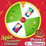 Win 1 of 3 Apple iPhone Xs from Qoo10