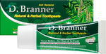 Free D'Branner Natural Herbal Toothpaste Sample