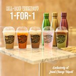 1 for 1 Drinks at Cafe Amazon (Jewel Changi Airport)