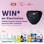 Win 1 of 5 Electrolux PUREi9.2 Robotic Vacuum Cleaners from UICCP