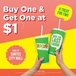 Buy 1, Get Another for $1 at Boost Juice Bars (Suntec City)