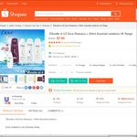 $7.90 for 4 x Dove Shampoos (250mL) + Free Dove 200mL Body Wash Delivered at Unileversg at Shopee