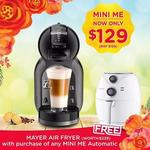 Bonus Mayer Air Fryer with Nescafe Dolce Gusto Mini Me Coffee Machine Purchase from Nescafe via Lazada (from $117 Delivered)