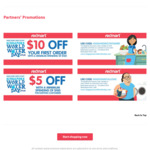 $10 off Min Spend $100 (New Customers) and $5 off Min Spend $100 (Existing Customers) at Redmart