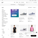 Extra 30% off Sale Items at Nike