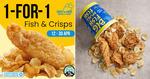 1 for 1 Fish & Crisps ($16.80++) at Big Fish Small Fish (Telegram Required)