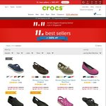 Crocs 11.11 Singles Day Offer - 50% off Best Sellers