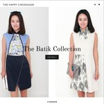 15% off Regular Priced Items at The Happy Cheongsam