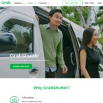 3x Free Rides for New GrabShuttle Users