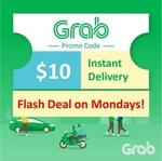 $10 Grab Voucher for $7.99 from scommerce via Shopee