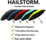 71% off Umbrella Purchase ($8.88) + Free Shipping for Orders above $40 at SeasonFun via Shopee