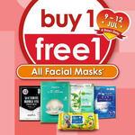 Buy 1 Free 1 All Facial Masks at Guardian