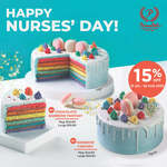 PrimaDeli SG Celebrates Nurses' Day with 15% off Rainbow Fantasy Cakes Promotion