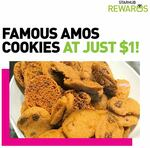 100g Cookies for $1 at Famous Amos (StarHub Rewards)