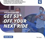 $3 off Taxi Rides to & From Vaccination Centres with ComfortDelGro