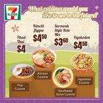 Pad Thai: $4, Kimchi Jiggae: $4.50, Sarawak Style Kolo Mee: $3.60 & Oyakodon: $4.50 at 7-Eleven