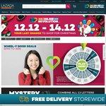 Lazada 12.12 Online Revolution - $15 off Sitewide ($150 Minimum Spend)