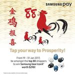 Win 1 of 88 Samsung Gear IconXs or 1 of 15 $80 Watsons Vouchers from Samsung [Make Purchases Using Samsung Pay]