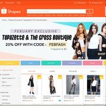20% off Topazette & The Cross Boutique at Shopee