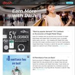 5% Cashback on ComfortDelGro Taxi Rides with Singtel Dash Payments