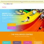 $5.20 Admission to Polliwogs (70%+ Discount) for First 25 Kids for 2 Hrs Play on 9/9/2017 National Day