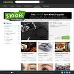 5% off Selected Deals @ Groupon