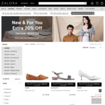 20% off on Selected Items on Zalora