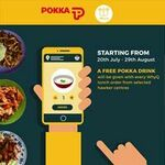 Bonus POKKA Drink with Any Weekday Lunch Order at Selected Outlets via WhyQ