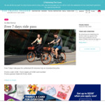 Free 7 Day Bike Pass with SG Bikes [UOB Cards]
