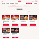 5pcs Hot & Crispy Tenders for $3.95 (U.P. $6.80) at KFC