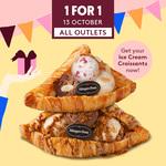 1 for 1 Ice Cream Croissants at Häagen-Dazs