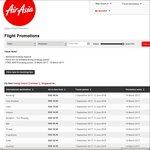 AirAsia - Free Seat Promotion (Travel Period 1 September 2017 - 5 June 2018) [$34 Langkawi, Jakarta, Kuala Lumpur, Penang]