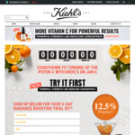 Fill in Details for a Free 3 Day Radiance Boosting Kiehl's Trial Kit
