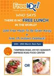 Free Char Siew Rice or Roasted Pork Rice Lunch, Otherwise $2/Plate from Happy World Roast