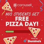 Free Soda, Soft Serve or Pizza from Carousell (NUS Students)