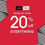 20% off Storewide at Sephora (for Gold & Black Card Members)