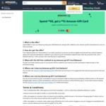 Spend $60, Get a $15 Amazon Gift Card at Amazon SG (UOB Mastercard)