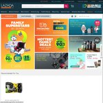 $8 off When You Spend $50 (Existing Customers), $10 off When You Spend $50 (New Customers) at Lazada