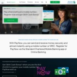 $10 with Standard Chartered Pay Now Registration