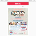 $3 Tickets for Free Food and Gift at Esso Malani-Tastic at Pek Kio CC. (First 800) on National Day