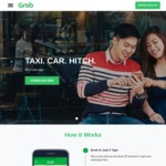 Top Up $20 GrabPay Credits by Sunday 13th August and Get $8 or $4 off All Grab Rides from Monday 14th to Sunday 20th August