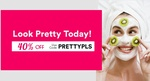40% off Selected Top Beauty Deals at Fave (previously Groupon)