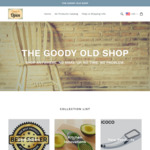 $5 off for First Purchase at The Goody Old Shop ($50 Minimum Spend)